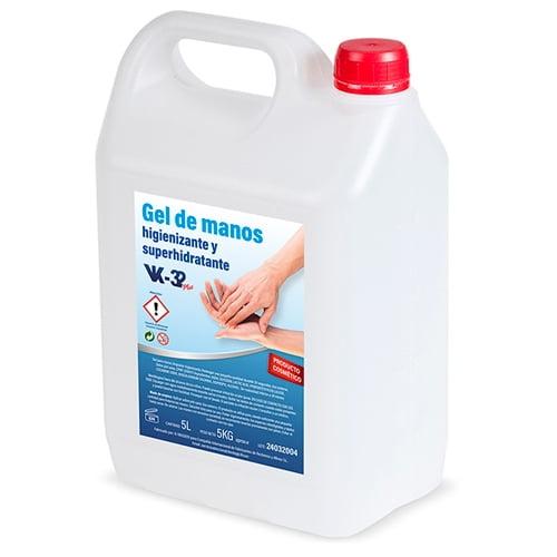 Gel Higienizante Super Hidratante Hidroalcolico- RM1666-RM Ingenia
